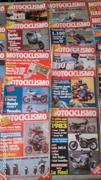 Coches y Motocicletas: LOTE 30 REVISTAS MOTOCICLISMO AÑO 1982. - Foto 3 - 158968750