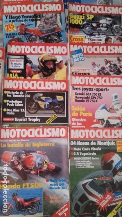 Coches y Motocicletas: LOTE 30 REVISTAS MOTOCICLISMO AÑO 1982. - Foto 4 - 158968750