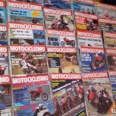 Coches y Motocicletas: LOTE 37 REVISTAS MOTOCOCLISMO AÑO 1983.. Lote 158970846