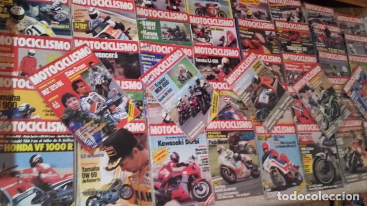 LOTE 45 REVISTAS MOTOCICLISMO AÑO 1984. (Coches y Motocicletas - Revistas de Motos y Motocicletas)