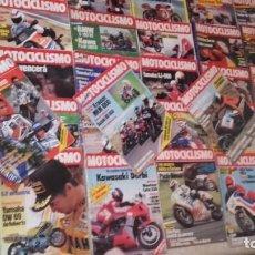 Coches y Motocicletas: LOTE 45 REVISTAS MOTOCICLISMO AÑO 1984.. Lote 158974226