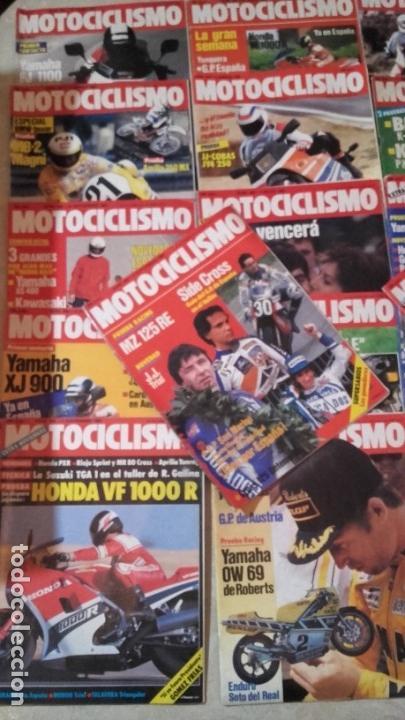 Coches y Motocicletas: LOTE 45 REVISTAS MOTOCICLISMO AÑO 1984. - Foto 2 - 158974226
