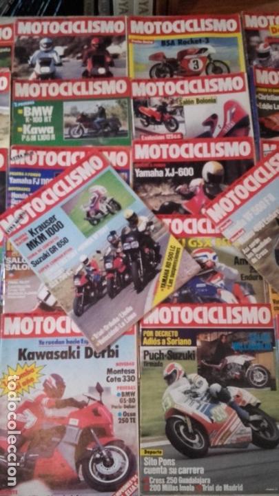 Coches y Motocicletas: LOTE 45 REVISTAS MOTOCICLISMO AÑO 1984. - Foto 3 - 158974226