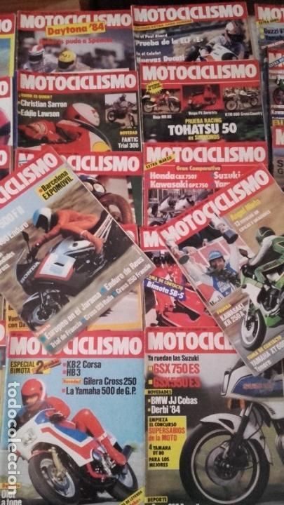 Coches y Motocicletas: LOTE 45 REVISTAS MOTOCICLISMO AÑO 1984. - Foto 4 - 158974226