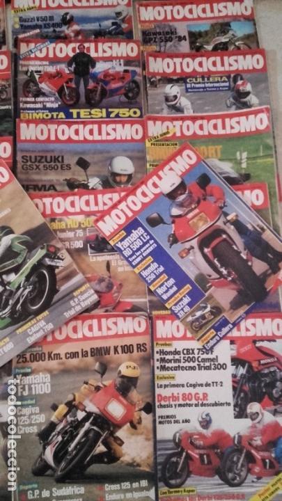 Coches y Motocicletas: LOTE 45 REVISTAS MOTOCICLISMO AÑO 1984. - Foto 5 - 158974226