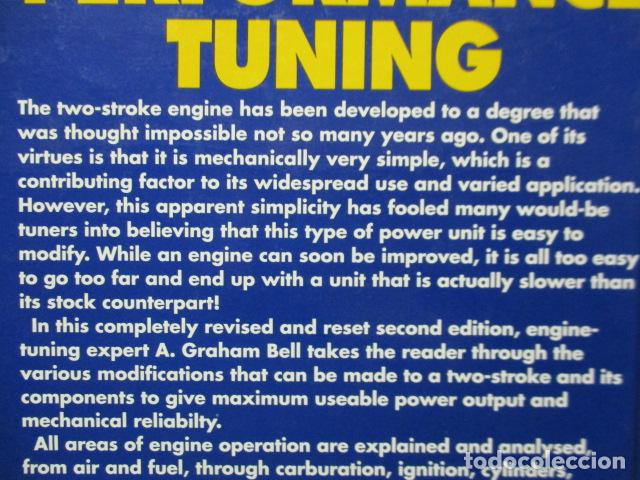 Coches y Motocicletas: LIBRO: Two-stroke Performance Tuning by A. Graham Bell (EN INGLES) - Foto 16 - 159036626