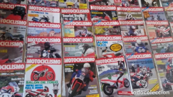 LOTE 35 REVISTAS MOTOCICLISMO AÑO 1985. (Coches y Motocicletas - Revistas de Motos y Motocicletas)
