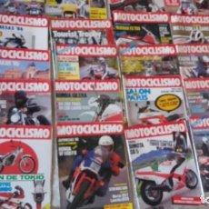 Coches y Motocicletas: LOTE 35 REVISTAS MOTOCICLISMO AÑO 1985.. Lote 159066958