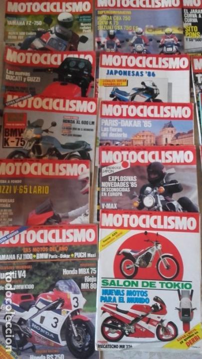 Coches y Motocicletas: LOTE 35 REVISTAS MOTOCICLISMO AÑO 1985. - Foto 2 - 159066958