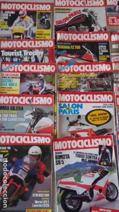 Coches y Motocicletas: LOTE 35 REVISTAS MOTOCICLISMO AÑO 1985. - Foto 3 - 159066958