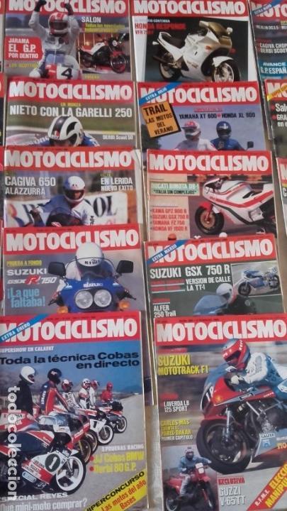 Coches y Motocicletas: LOTE 35 REVISTAS MOTOCICLISMO AÑO 1985. - Foto 4 - 159066958