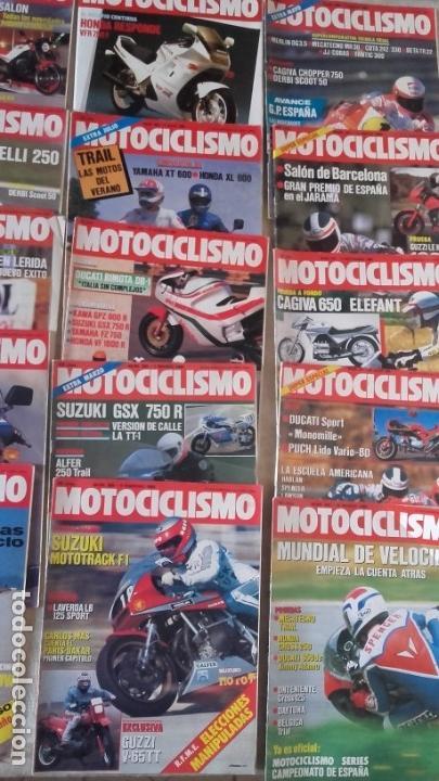 Coches y Motocicletas: LOTE 35 REVISTAS MOTOCICLISMO AÑO 1985. - Foto 5 - 159066958