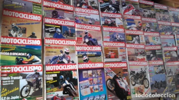 LOTE 40 REVISTAS MOTOCICLISMO AÑO 1987. (Coches y Motocicletas - Revistas de Motos y Motocicletas)