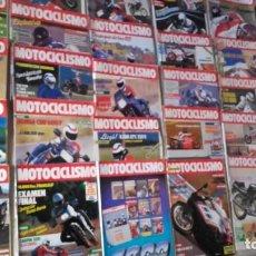 Coches y Motocicletas: LOTE 40 REVISTAS MOTOCICLISMO AÑO 1987.. Lote 159070694