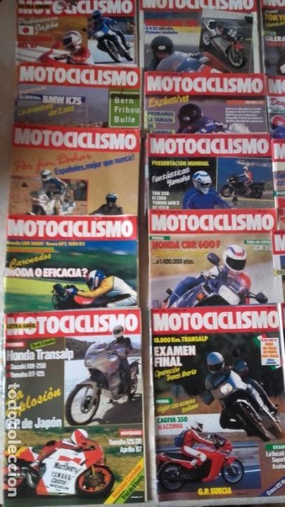 Coches y Motocicletas: LOTE 40 REVISTAS MOTOCICLISMO AÑO 1987. - Foto 2 - 159070694