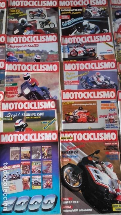 Coches y Motocicletas: LOTE 40 REVISTAS MOTOCICLISMO AÑO 1987. - Foto 3 - 159070694