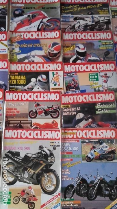 Coches y Motocicletas: LOTE 40 REVISTAS MOTOCICLISMO AÑO 1987. - Foto 4 - 159070694