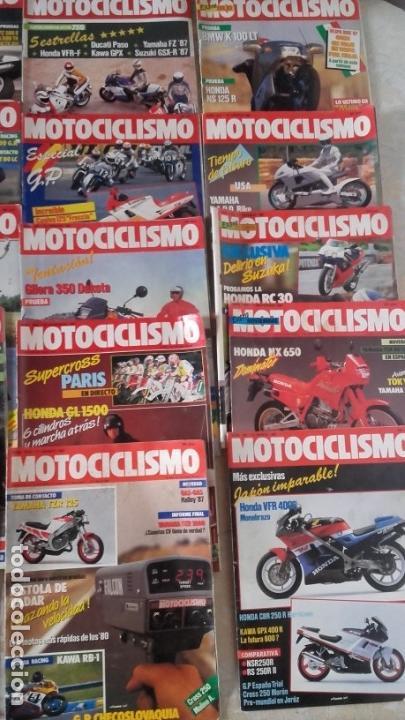 Coches y Motocicletas: LOTE 40 REVISTAS MOTOCICLISMO AÑO 1987. - Foto 5 - 159070694