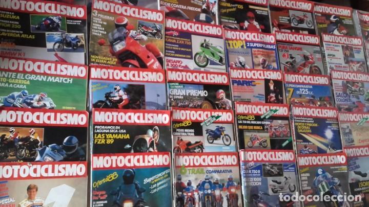 LOTE 35 REVISTAS MOTOCICLISMO AÑO 1988. (Coches y Motocicletas - Revistas de Motos y Motocicletas)