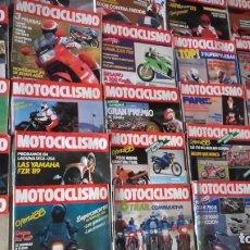 Coches y Motocicletas: LOTE 35 REVISTAS MOTOCICLISMO AÑO 1988.. Lote 159075234
