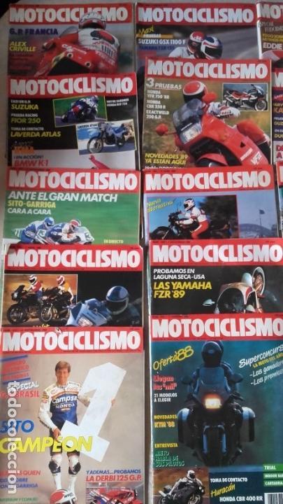 Coches y Motocicletas: LOTE 35 REVISTAS MOTOCICLISMO AÑO 1988. - Foto 2 - 159075234
