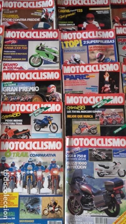 Coches y Motocicletas: LOTE 35 REVISTAS MOTOCICLISMO AÑO 1988. - Foto 3 - 159075234