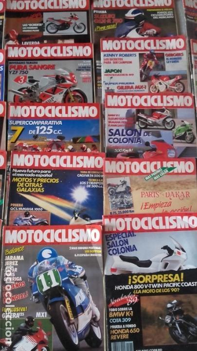 Coches y Motocicletas: LOTE 35 REVISTAS MOTOCICLISMO AÑO 1988. - Foto 4 - 159075234