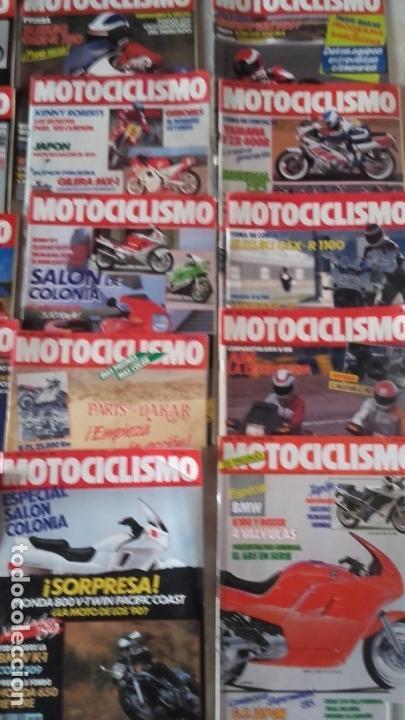 Coches y Motocicletas: LOTE 35 REVISTAS MOTOCICLISMO AÑO 1988. - Foto 5 - 159075234