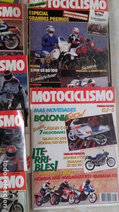 Coches y Motocicletas: LOTE 35 REVISTAS MOTOCICLISMO AÑO 1988. - Foto 6 - 159075234