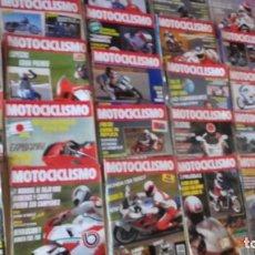 Voitures et Motocyclettes: LOTE DE 38 REVISTAS MOTOCICLISMO AÑO 1989.. Lote 159081862