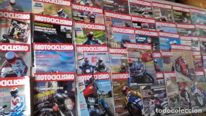 LOTE 42 REVISTAS MOTOCICLISMO AÑO 1990. (Coches y Motocicletas - Revistas de Motos y Motocicletas)