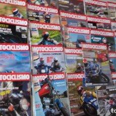 Coches y Motocicletas: LOTE 42 REVISTAS MOTOCICLISMO AÑO 1990.. Lote 159089246