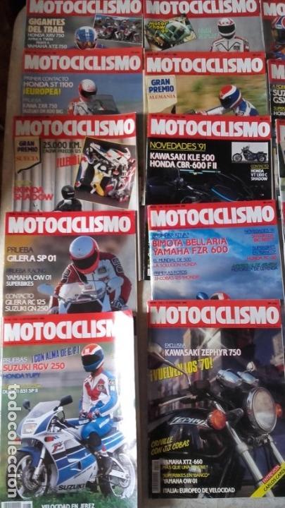 Coches y Motocicletas: LOTE 42 REVISTAS MOTOCICLISMO AÑO 1990. - Foto 2 - 159089246