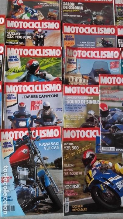 Coches y Motocicletas: LOTE 42 REVISTAS MOTOCICLISMO AÑO 1990. - Foto 3 - 159089246