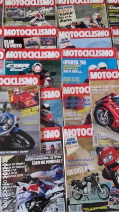 Coches y Motocicletas: LOTE 42 REVISTAS MOTOCICLISMO AÑO 1990. - Foto 4 - 159089246