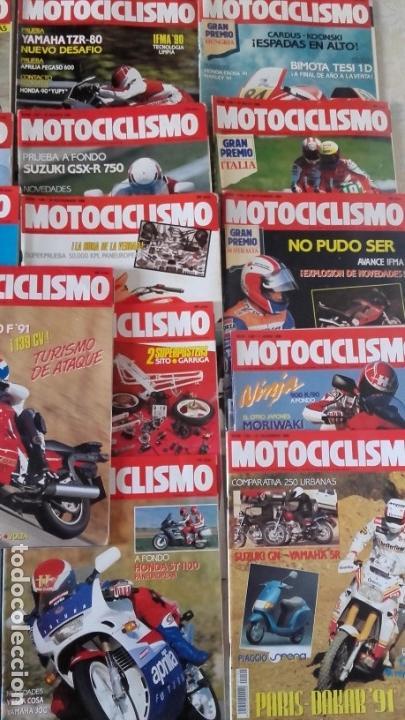 Coches y Motocicletas: LOTE 42 REVISTAS MOTOCICLISMO AÑO 1990. - Foto 5 - 159089246
