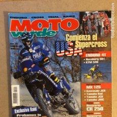 Coches y Motocicletas: MOTO VERDE N° 247 (1999). ENDURO 4T (HUSABERG 401, KTM 540), PREPARACIONES MX 125 ( KAWA JCR, YAMAHA. Lote 159302574