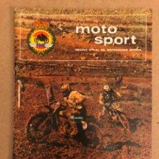 Coches y Motocicletas: MOTO SPORT N° 91 (REAL FEDERACIÓN MOTOCICLISTA ESPAÑOLA 1978).. Lote 159432644