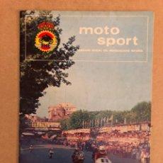 Coches y Motocicletas: MOTO SPORT N° 64 (REAL FEDERACIÓN MOTOCICLISTA ESPAÑOLA 1976).. Lote 159432885