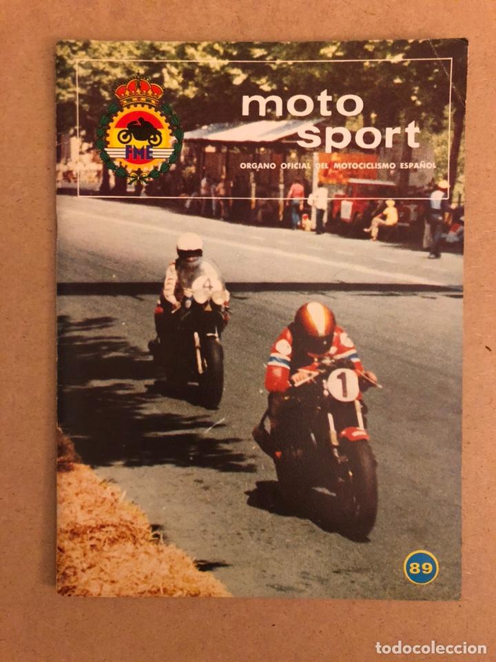 MOTO SPORT N° 89 (REAL FEDERACIÓN MOTOCICLISTA ESPAÑOLA 1978). DERBI TT (Coches y Motocicletas - Revistas de Motos y Motocicletas)