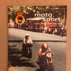 Coches y Motocicletas: MOTO SPORT N° 89 (REAL FEDERACIÓN MOTOCICLISTA ESPAÑOLA 1978). DERBI TT. Lote 159433062