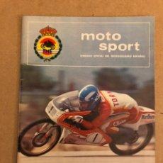 Coches y Motocicletas: MOTO SPORT N° 90 (REAL FEDERACIÓN MOTOCICLISTA ESPAÑOLA 1978).. Lote 159433206