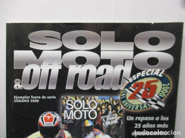 Coches y Motocicletas: REVISTA SOLO MOTO & OFF ROAD EJEMPLAR FUERA SERIE VERANO 2000 - Foto 4 - 159616558