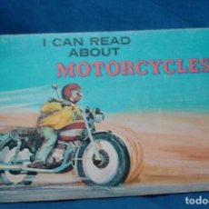 Coches y Motocicletas: -MOTORCICLES - I CAN READ ABOUT - DIBUJOS DE HERB MOTT - ED. TROLL 1979. Lote 159643394