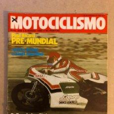 Coches y Motocicletas: MOTOCICLISMO N° 649 (1980). SWM 250 M.C., MORINI 500 Y 350 SPORT, PUCH 75 TT, SITO PONS,.... Lote 160195158