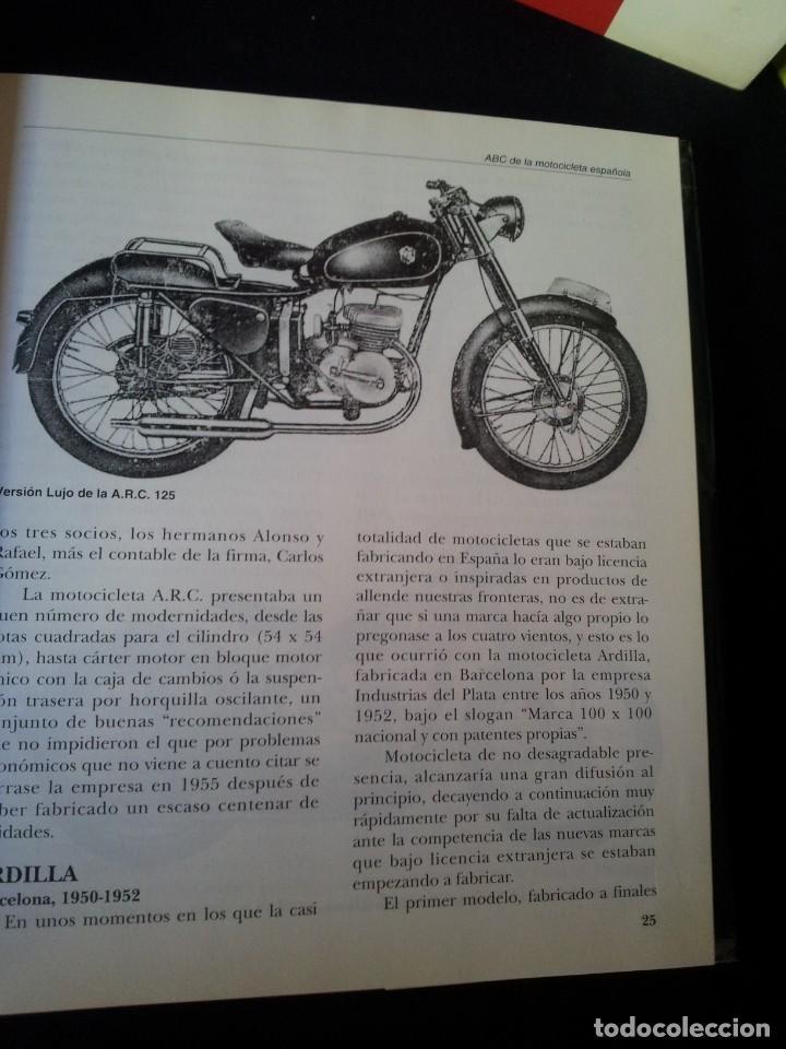 Coches y Motocicletas: FRANCISCO HERREROS - ABC DE LA MOTOCICLETA ESPAÑOLA - 3 TOMOS - MOTO RETRO 1992 - Foto 4 - 160295066