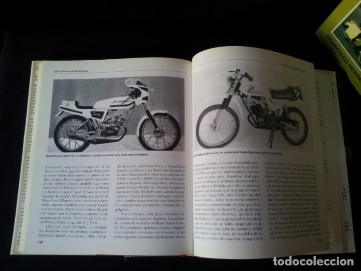 Coches y Motocicletas: FRANCISCO HERREROS - ABC DE LA MOTOCICLETA ESPAÑOLA - 3 TOMOS - MOTO RETRO 1992 - Foto 7 - 160295066