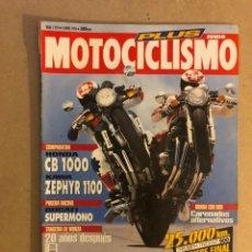 Coches y Motocicletas: MOTOCICLISMO N° 1319 (1993). HONDA CB 1000 VS KAWA ZEPHYR 1100, DUCATI SUPERMOTO, TRAGEDIA MONZA,... Lote 160310892