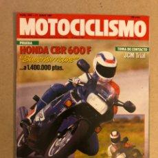 Voitures et Motocyclettes: MOTOCICLISMO N° 1007 (1987). HONDA CBR 600 F, JCM TRIAL, YAMAHA FZ 750, G.P. AUSTRIA,... Lote 160312940