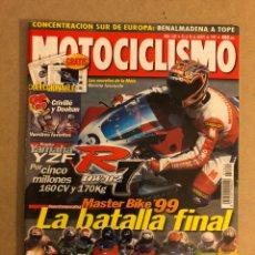 Coches y Motocicletas: MOTOCICLISMO N° 1622 (1999). YAMAHA YZF R7, 14 MEJORES DEPORTIVAS, CRIVILLÉ DOOHAN,.... Lote 160313353